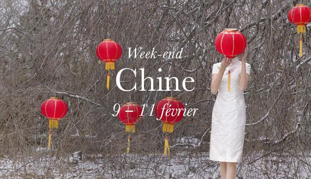 Week-end Chine