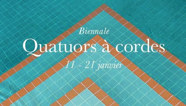 Biennale de quatuors à cordes