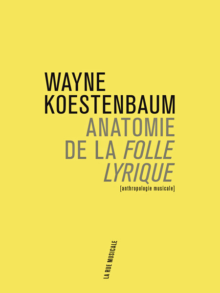 Wayne Koestenbaum, Anatomie de la Folle lyrique