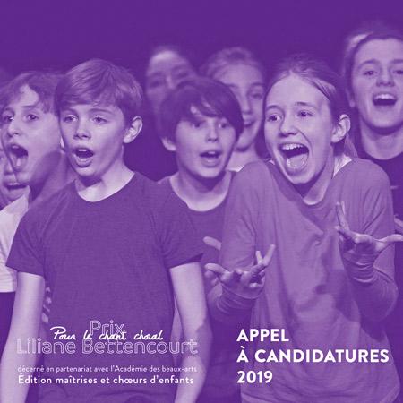 Prix Liliane Bettencourt pour le chant choral