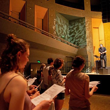 Stage :                                                            Prendre la                                                            parole en tant                                                            que                                                            musicien-médiateur