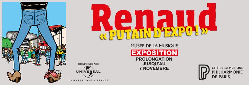 Exposition Renaud prolongée jusqu'au 7 novembre