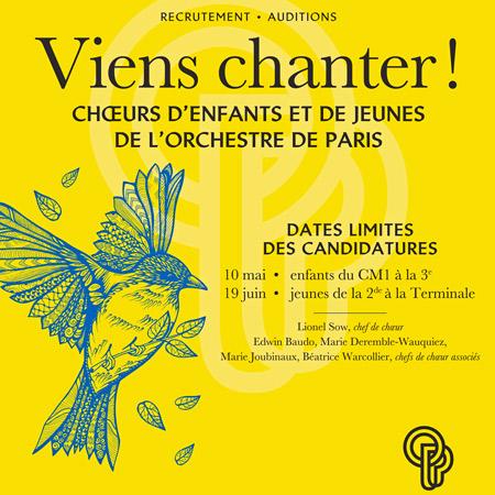 Choeur                                                            d'enfants de                                                            l'Orchestre de                                                            Paris