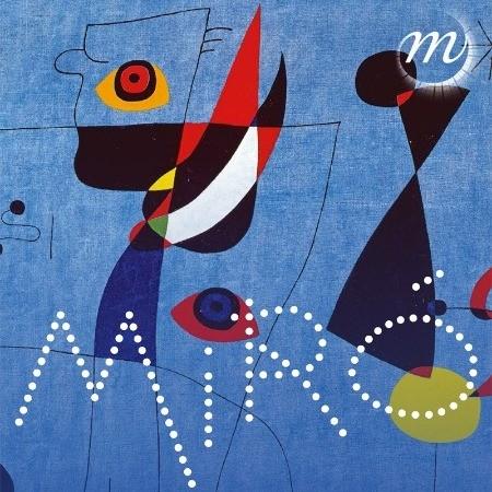 Joan Miró, Femmes et oiseau dans la nuit (détail), 5 mai 1947. Huile sur toile. New York, Calder Foundation © Successió Miró / Adagp, Paris, 2018.