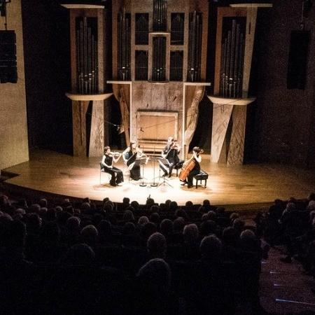 Audition de quatuors à cordes