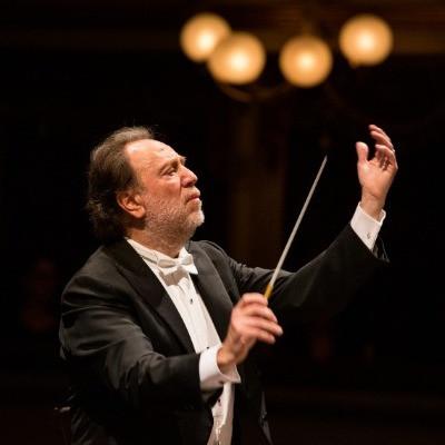 Riccardo Chailly dirige l'Orchestre de Paris