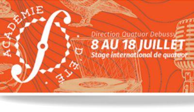 Stage international de quatuor