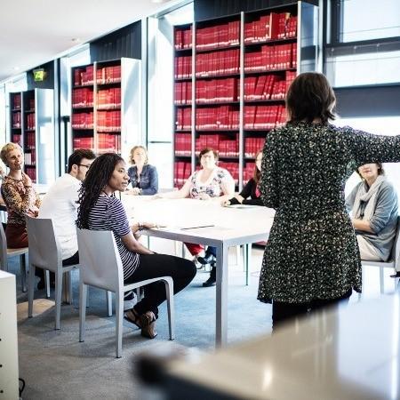 Présentation des formations à la Médiathèque